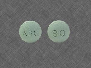 Oxycodone 80mg