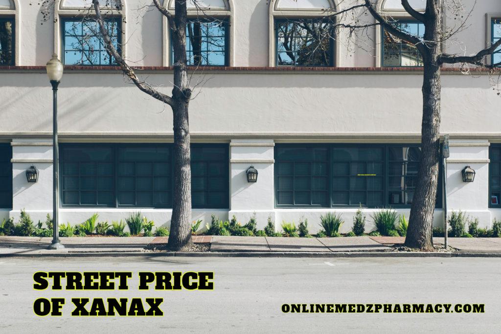 street price of xanax