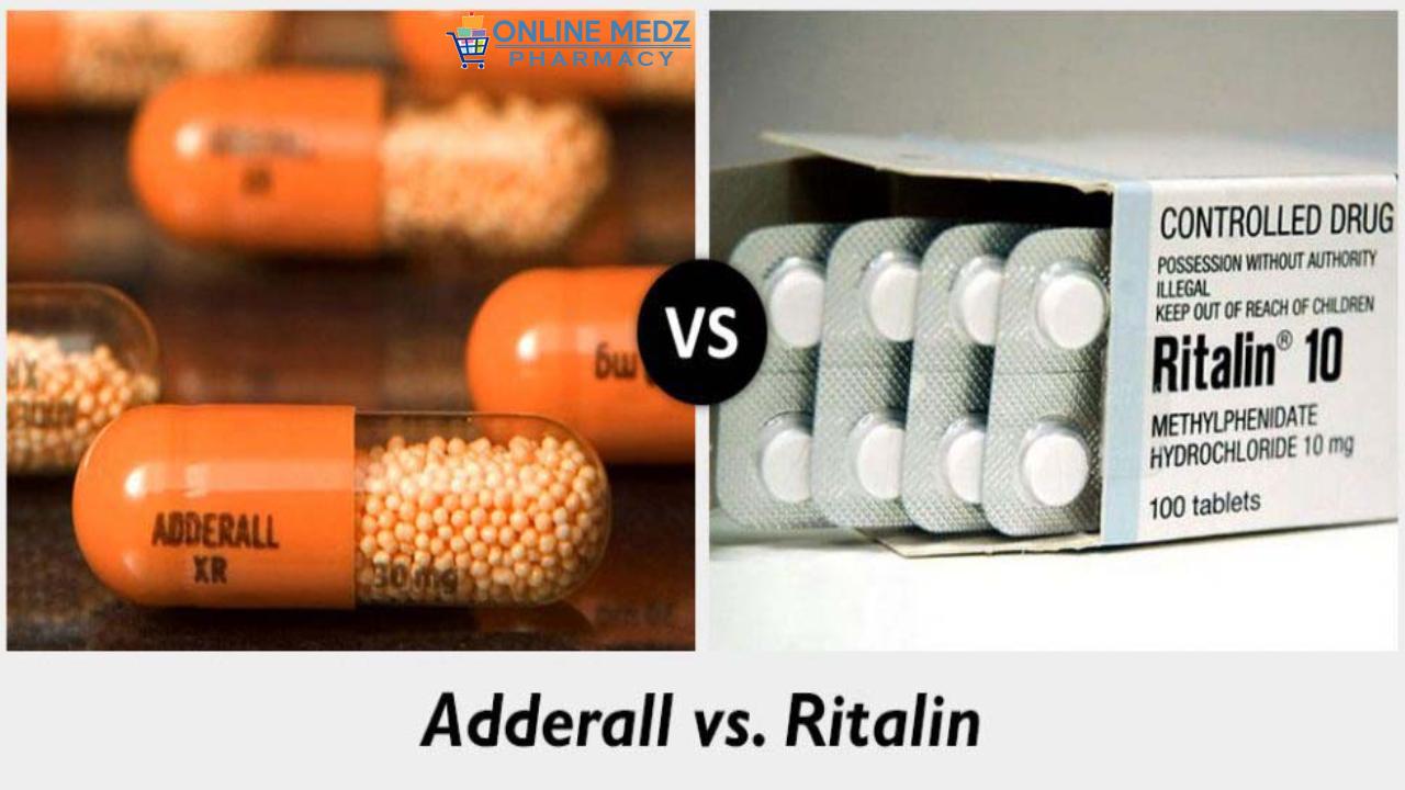 Adderall vs ritalin